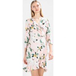 Sukienki hiszpanki: YAS CRANE Sukienka letnia potpourri/crane