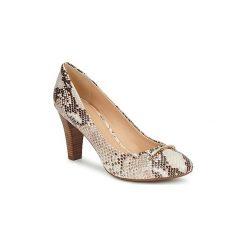 Czółenka Geox  MARIECLAIRE POMA. Brązowe buty ślubne damskie Geox. Za 433,30 zł.