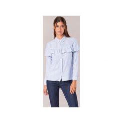 Koszule Moony Mood  HALIS. Niebieskie koszule wiązane damskie Moony Mood, l. Za 87,20 zł.