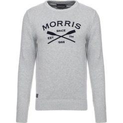 Kardigany męskie: Morris DAVIS ONECK Sweter grey