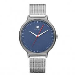 """Zegarek """"IQ68Q1220"""" w kolorze srebrno-niebieskim. Niebieskie, analogowe zegarki męskie NIXON & ESPRIT, ze stali. W wyprzedaży za 529,95 zł."""