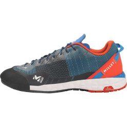 Millet AMURI Buty wspinaczkowe electric blue/orange. Niebieskie buty trekkingowe męskie Millet, z materiału, outdoorowe. W wyprzedaży za 479,20 zł.
