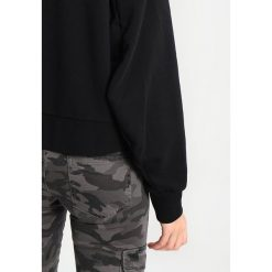 Bluzy rozpinane damskie: Cheap Monday ATTRACT HOOD ARCHED LOGO  Bluza z kapturem black