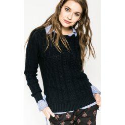 Medicine - Sweter Hogwarts. Czarne swetry klasyczne damskie MEDICINE, l, z bawełny, z okrągłym kołnierzem. W wyprzedaży za 59,90 zł.