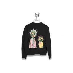 Bluza Rick i Morty Zombie Damska. Czarne bluzy męskie z kieszeniami Failfake, xs. Za 160,00 zł.