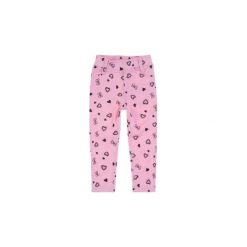 Spodnie niemowlęce. Różowe spodnie niemowlęce TXM. Za 19,99 zł.