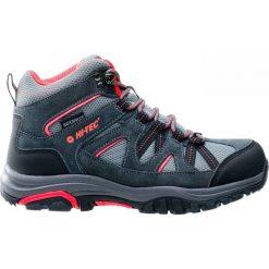 Buty trekkingowe damskie: Hi-tec Buty Damskie Raposo Mid Wp Dark Grey/Shiny Pink/Light Grey r. 37 (84528)