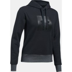 Bluzy damskie: Under Armour Bluza damska Threadborne Fleece BL Hoodie czarna r.M (1298592-001)