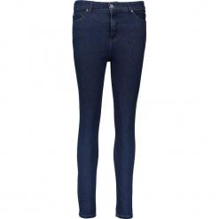 Dżinsy - Slim fit - w kolorze granatowym. Niebieskie jeansy damskie relaxed fit marki Mustang, z aplikacjami, z bawełny. W wyprzedaży za 195,95 zł.