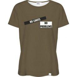 Colour Pleasure Koszulka damska CP-030 270 zielona r. XL/XXL. T-shirty damskie Colour pleasure, xl. Za 70,35 zł.
