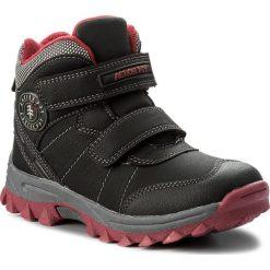 Buty zimowe chłopięce: Trapery ACTION BOY – CP07-16990-01 Czarny