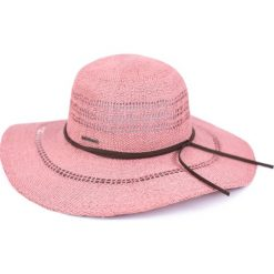 Kapelusz damski So romantic różowy (cz18166-3). Czerwone kapelusze damskie Art of Polo. Za 53,11 zł.