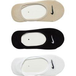 Nike - Stopki(3-pak). Szare skarpetki damskie Nike, z bawełny. Za 49,90 zł.