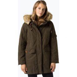Camel Active - Płaszcz damski, zielony. Brązowe płaszcze damskie marki Camel Active, klasyczne. Za 899,95 zł.