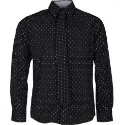 Koszula - Slim fit - w kolorze czarnym. Czarne koszule chłopięce Paglie, New G.O.L & more, z klasycznym kołnierzykiem. W wyprzedaży za 95,95 zł.