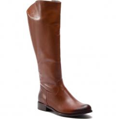Oficerki BALDACCINI - 521200-8 Brąz 259. Brązowe buty zimowe damskie Baldaccini, ze skóry, przed kolano, na wysokim obcasie. W wyprzedaży za 309,00 zł.