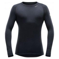 Devold Męska Koszulka Expedition Man Shirt, Black, Xl. Czarne koszulki turystyczne męskie Devold, m, z wełny. Za 299,00 zł.