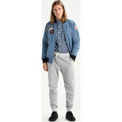 Koszule męskie na spinki: Abercrombie & Fitch CORE POPLIN Koszula navyblue