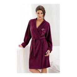 Szlafrok Diana FR-107 Bordowy. Czerwone szlafroki kimona damskie Dorota, z bawełny. Za 135,90 zł.