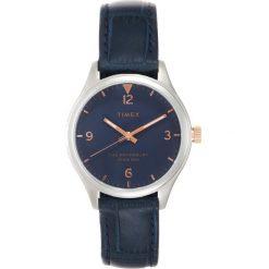 Timex WATERBURY CASE DIAL AND STRAP Zegarek blue. Niebieskie, analogowe zegarki damskie Timex. Za 499,00 zł.