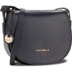 Torebka COCCINELLE - BF8 Clementine Soft E1 BF8 15 02 01 Bleu 011. Brązowe listonoszki damskie marki Coccinelle, ze skóry. W wyprzedaży za 699,00 zł.