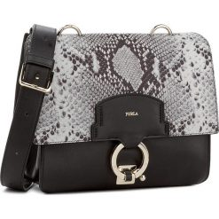 Torebka FURLA - Scoop 904194 B BKW8 PPP Onyx/Argilla. Czarne torebki klasyczne damskie marki Furla, ze skóry. W wyprzedaży za 1039,00 zł.