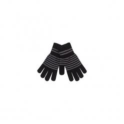 Rękawiczki damskie w paski. Czarne rękawiczki damskie marki TXM, w paski. Za 7,99 zł.