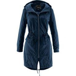 Luźniejszy płaszcz lekko ocieplany bonprix ciemnoniebieski. Niebieskie płaszcze damskie pastelowe bonprix. Za 149,99 zł.
