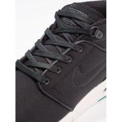 Nike SB STEFAN JANOSKI MAX MID Tenisówki i Trampki wysokie black/neptune green/anthracite/sail. Czarne trampki męskie Nike SB, z materiału. W wyprzedaży za 495,20 zł.