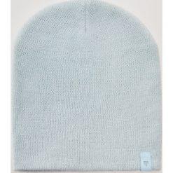 Czapka z błyszczącą nitką - Niebieski. Niebieskie czapki zimowe damskie House. Za 19,99 zł.