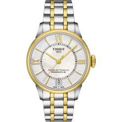 PROMOCJA ZEGAREK TISSOT Chemin Des Tourelles Powermatic 80 Lady T09. Białe zegarki damskie TISSOT, ze stali. W wyprzedaży za 3432,00 zł.