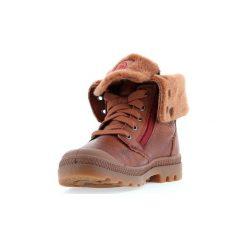 Śniegowce Dziecko Palladium  Baggy Leather S 82610-296. Brązowe buty zimowe chłopięce Palladium. Za 383,30 zł.