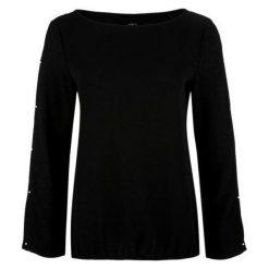 S.Oliver Koszulka Damska 40 Czarny. Czarne bluzki z odkrytymi ramionami S.Oliver, s, z materiału. Za 139,00 zł.