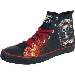 Spiral Ace Reaper Buty sportowe czarny. Czarne buty skate męskie Spiral, z gumy, na sznurówki. Za 199,90 zł.