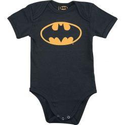 Body niemowlęce: Batman Logo Body czarny