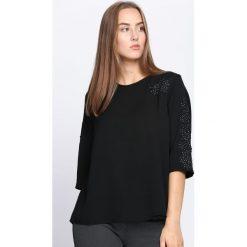 Czarna Bluzka Crazy For You. Czarne bluzki asymetryczne Born2be, xl, z koronki, z okrągłym kołnierzem. Za 44,99 zł.