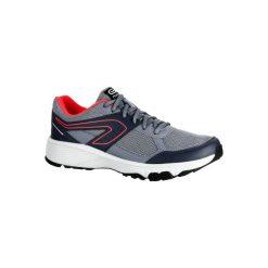 Buty do biegania RUN CUSHION GRIP damskie. Szare buty do biegania damskie marki KALENJI, z gumy. W wyprzedaży za 69,99 zł.