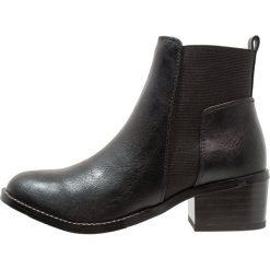 New Look 915 Generation BILLION Botki black. Czarne buty zimowe damskie New Look 915 Generation, z materiału. Za 139,00 zł.