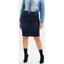 Spódniczki jeansowe: Simply Be SHAPE SCULPT PENCIL SKIRT Spódnica ołówkowa  dark indigo