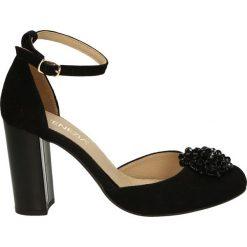 Buty ślubne damskie: Czółenka - 737-063 CA NE