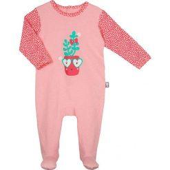 Pajacyki niemowlęce: Śpioszki w kolorze różowym