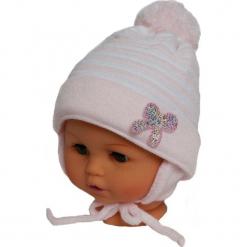 Czapka niemowlęca z szalikiem CZ+S 009B. Szare czapeczki niemowlęce Proman. Za 36,70 zł.