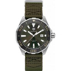 ZEGAREK TAG HEUER AQUARACER WAY101E.FC8222. Zielone zegarki męskie TAG HEUER, szklane. Za 6590,00 zł.