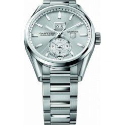 ZEGAREK TAG HEUER CARRERA WAR5011.BA0723. Czarne zegarki męskie marki KALENJI, ze stali. Za 16820,00 zł.