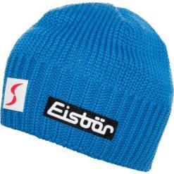 Eisbär TROP Czapka blue. Niebieskie czapki męskie Eisbär, z bawełny. W wyprzedaży za 170,10 zł.