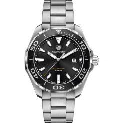 ZEGAREK TAG HEUER AQUARACER 300M WAY101A.BA0746. Czarne zegarki męskie marki KALENJI, ze stali. Za 6990,00 zł.