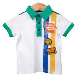 Primigi Koszulka Polo Chłopięca 86 Wielokolorowy. Szare t-shirty chłopięce marki Primigi. W wyprzedaży za 65,00 zł.