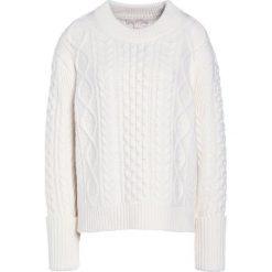 MICHAEL Michael Kors CABLE Sweter bone. Białe swetry klasyczne damskie marki MICHAEL Michael Kors, m, z materiału. W wyprzedaży za 681,45 zł.