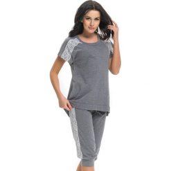 Piżamy damskie: Piżama w kolorze ciemnoszarym