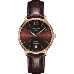 RABAT ZEGAREK CERTINA DS Dream C021.810.36.297.00. Czerwone zegarki damskie CERTINA, ze stali. W wyprzedaży za 1641,20 zł.